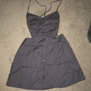 DOLCE VITA Grey Size Large Cutout Laceup Back